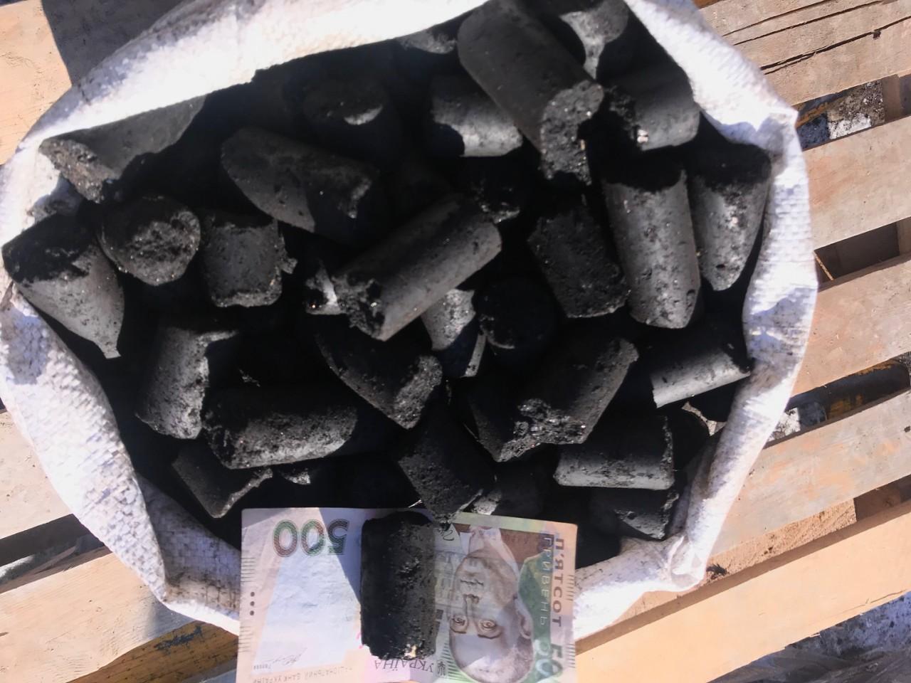 угольные брикеты киев